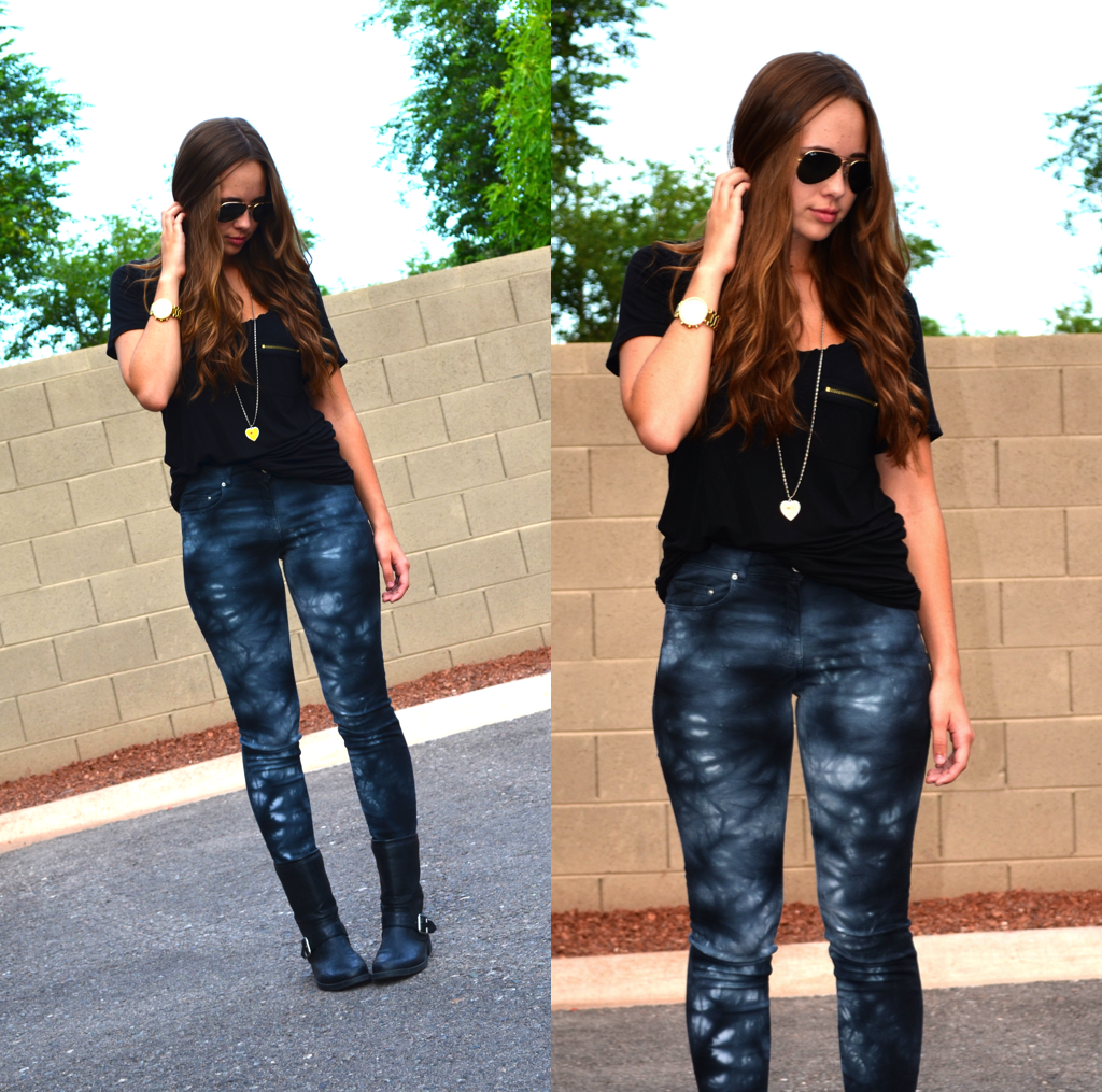 Black t shirt outfit - Fb