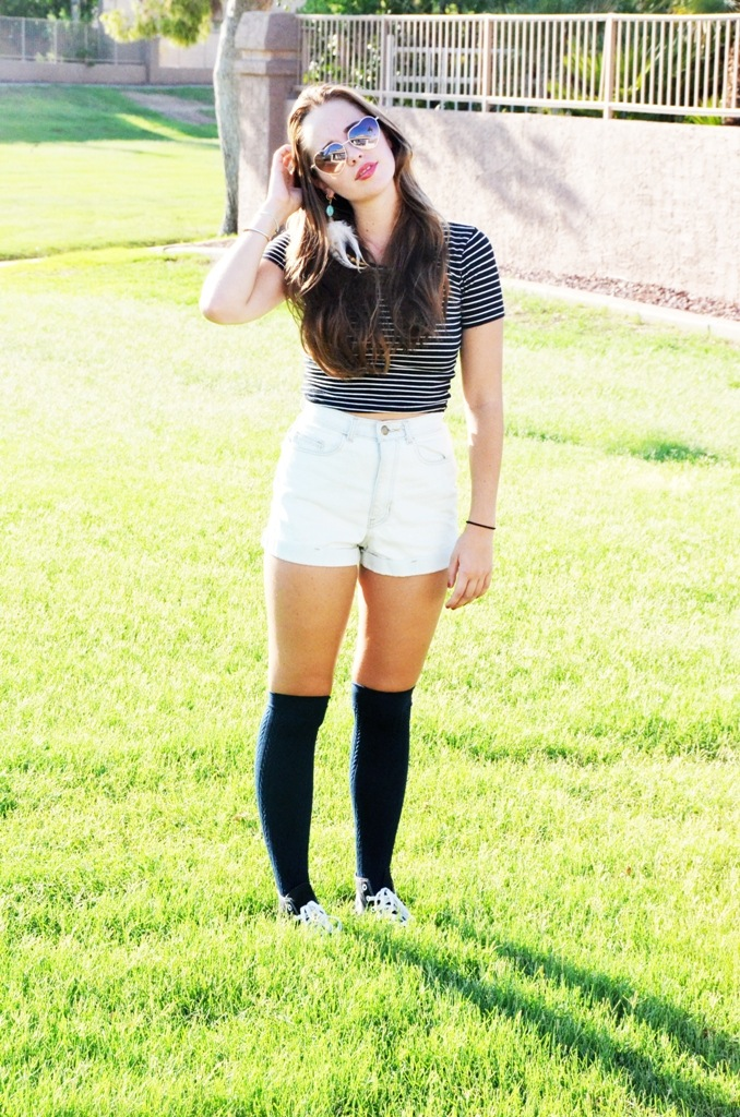 the gallery for gt knee socks with converse