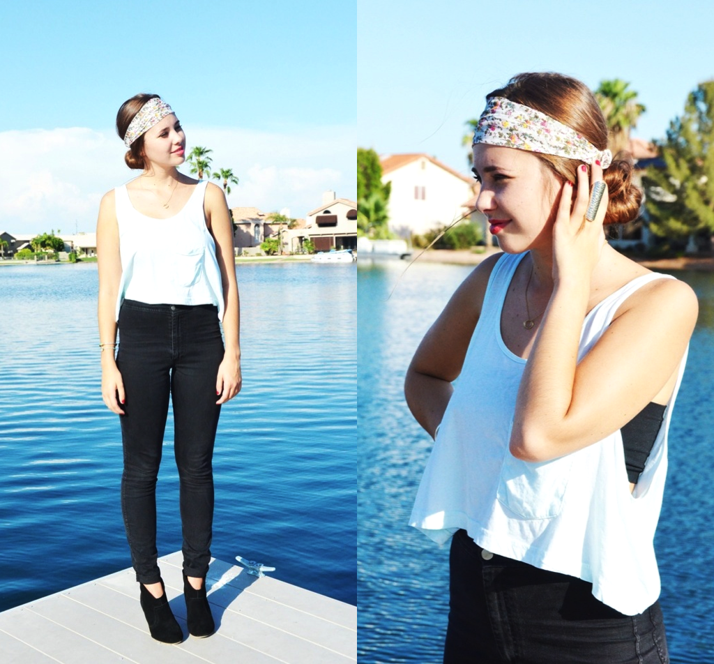 Watch - How to american wear apparel headband video